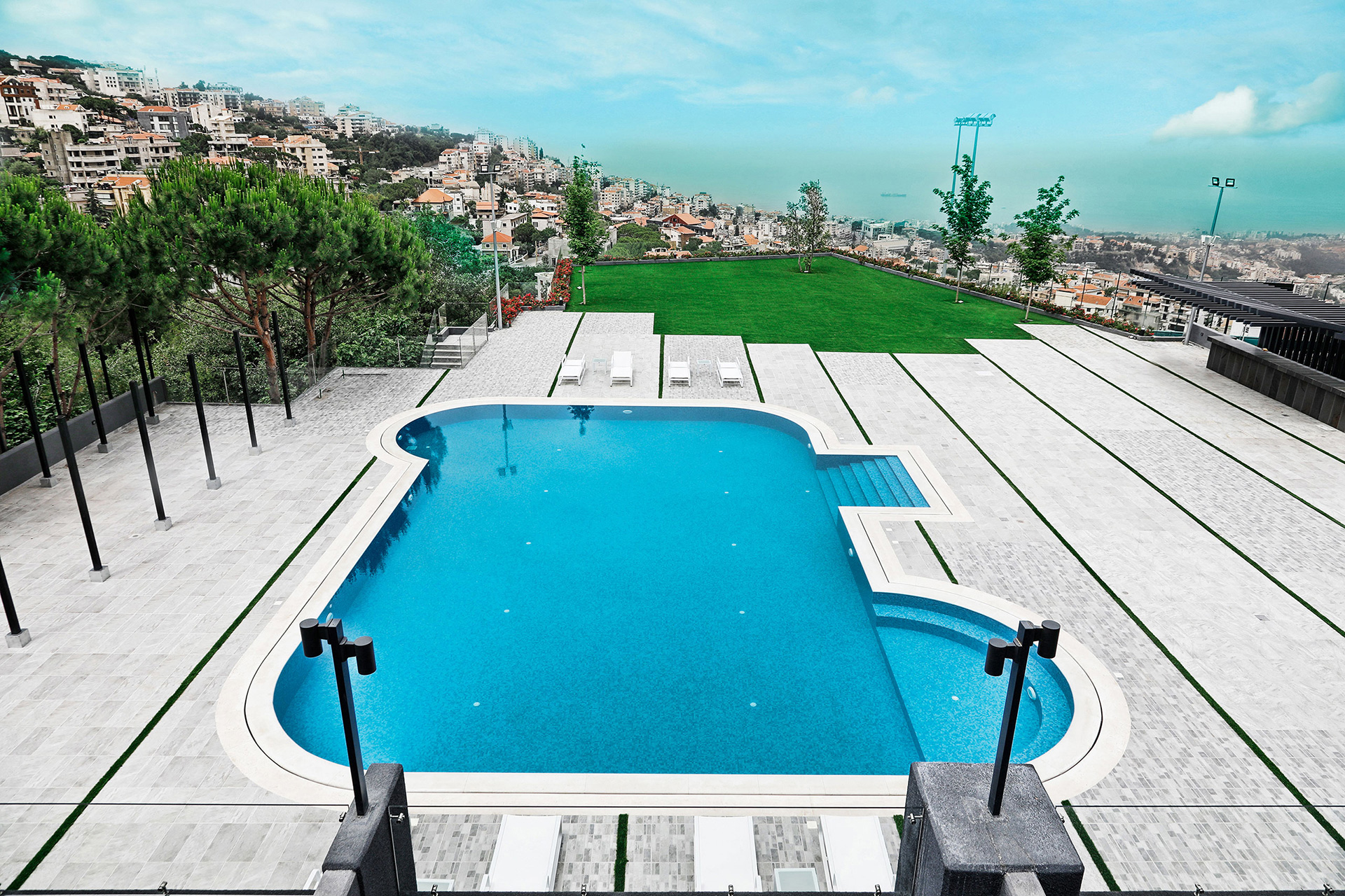 Le-Pave-Hotel-Lebanon-Beirut-Outside-Pool